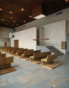 Los Nogales School's chapel by Daniel Bonilla Arquitectos as Architects