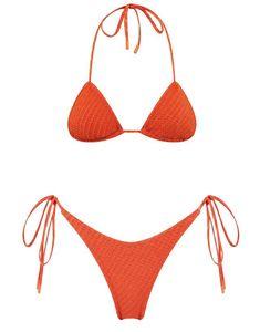 Triangl Swimwear available exclusively from our website. Italian-made Velvet, French Jacquard + Signature Neoprene. Beachwear Fashion, Bikini Fashion, Emily Ratajkowski Beach, Beach Bunny Swimwear, Two Piece Swimwear, Bikini Outfits, Cute Swimsuits, Summer Bikinis, Vacation Outfits
