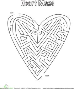 First Grade Mazes - I think this site has other worksheets too. Education.com