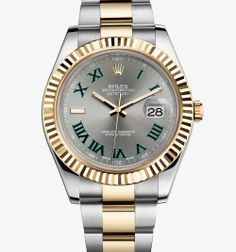 Rolex Datejust II Watch: Yellow Rolesor - combination of 904L steel and 18 ct yellow gold – M116333-0001