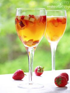White Sangria. For the summertime... or anytime actually.