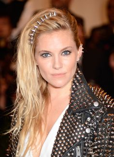 Inspired By The Met Balls Punk Style? Make Like Sienna Miller With These Ear Cuffs