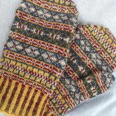 Ravelry: Fair Isle Mittens pattern by Marcia Lewandowski