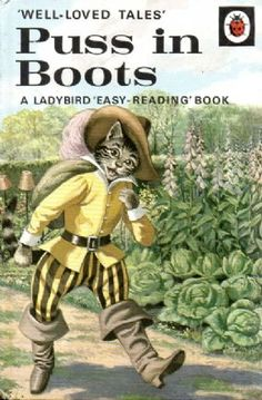 Ladybird Puss in Boots. I loved Ladybird books when I was a child. They had amazing illustrations & there were fiction and Easy Reading Books, Good Books, My Books, Story Books, Tales Series, Ladybird Books, My Childhood Memories, Nice Memories, 1970s Childhood