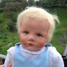 Kathe Kruse Du Mein VW 1931 20 Baby with Original RARE Wig and Layette | eBay
