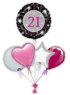 21st Birthday Balloons Balloon Bouquets Are Best Gifts For Both Kids And Elders Alike It Is One Way
