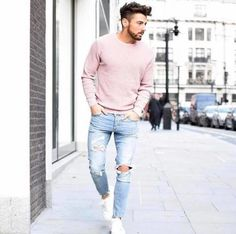 Healthy living at home devero login account access account Hip Mens Fashion, Mens Fashion Summer Outfits, Casual Outfits, Men's Fashion, Male Outfits, Pink Outfits, Hipster Man, Living At Home, Street Wear