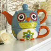 Owl Tea for One from Colorfulimages.com
