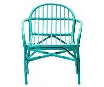 Bloomingville Stoel bamboe groen 65x67x73cm, bamboo chair green