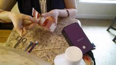Jamberry Nails Reverse Heating Application Method