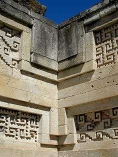 Zapotec Architecture, Mitla, Mexico
