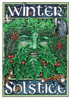 Solstice Green Man Winter Z Samhain, Pagan Yule, Pagan Men, Kwanzaa, Christmas Art, Winter Christmas, Pagan Christmas, Christmas Greetings, Vintage Christmas