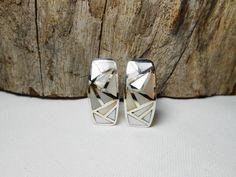 Gorgeous Sterling Silver Rectangle White Mother Pearl Hoop Earrings,Mother Pearl Huggie Earring,Mother Pearl Hoop Earring,Personalized Gifts by Supsilver on Etsy
