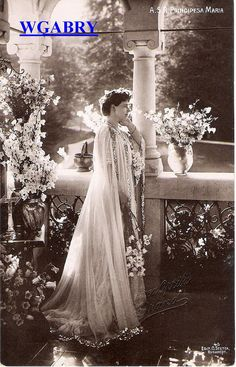 Crown Princess Marie of Romania Romanian Royal Family, Casa Real, Romantic Pictures, Royal House, Princess Mary, Royal Weddings, Kaiser, Belle Epoque, King Queen