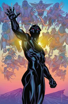 Black Panther Vol 6 Cover A Regular Brian Stelfreeze Cover (Marvel Legacy Tie-In) Jack Kirby, Black Panther Comic, Black Panther King, Stan Lee, Comic Books Art, Comic Art, Book Art, World Of Wakanda, Panther Pictures