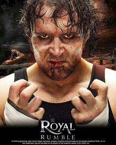 Dean Ambrose. This is so awesome :D