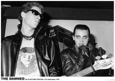 The Damned - 100 Club poster