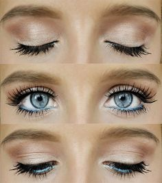 The perfect everyday eye, for blue eyes