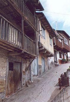 Barrio de los Tejedores - Villafranca del Bierzo - León