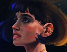 "Check out new work on my @Behance portfolio: ""Cosmic girl"" http://be.net/gallery/57809335/Cosmic-girl"