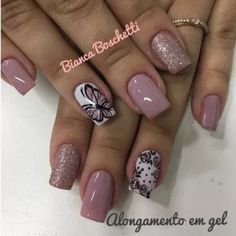 trend nail design inspiration picture - Page 47 of 109 47 Creative Nail Designs, Toe Nail Designs, Creative Nails, Fabulous Nails, Perfect Nails, Gorgeous Nails, Nude Nails, Nail Manicure, Gel Nails