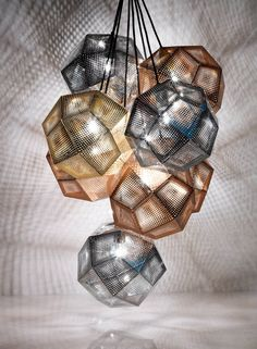 Awesome and Elegant Pendant Lamp with Copper and Stainless Steel, Etch by Tom Dixon Interior Lighting, Modern Lighting, Lighting Design, Decor Interior Design, Dramatic Lighting, Contemporary Pendant Lights, Pendant Lighting, Light Pendant, Contemporary Design