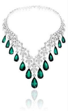 diamonds emeralds.... luxury jewelry - Imgend