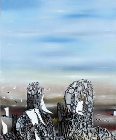 The Hunted Sky by Yves Tanguy