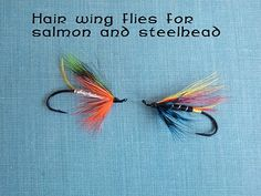 Classic Angler Products: Hairwing Flies for Salmon and Steelhead