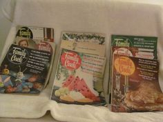Vintage 1965 Family Circle Magazines Home Garden Articles Ads Recipes Stories