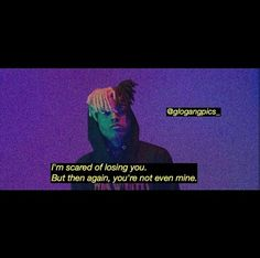 I dont want to lose u