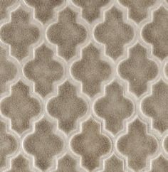 The Ashbury Pattern from Walker Zanger is another great tile pattern. The tiles are mesh-mounted (meaning, there is a mesh on the back of t...