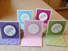 Reason to Smile 3x3 Note Cards - Catherine Loves Stamps