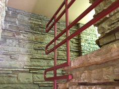 Fallingwater Railing - Frank Lloyd Wright