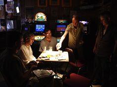 Five guy in the opening scene playing cards. http://www.kingofherrings.com #kingofherrings #independentfilm #neworleansfilm