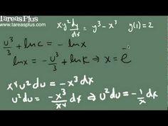 Solución a una ecuación homogénea por sustitución parte 2