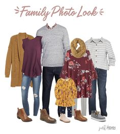 Ideas for What to Wear for Family PicturesYou can find Family photo outfits and more on our website.Ideas for What to Wear for Family Pictures Fall Family Picture Outfits, Family Pictures What To Wear, Family Picture Colors, Family Portrait Outfits, Winter Family Photos, Fall Family Portraits, Colors For Family Pictures, Fall Photo Outfits, Beach Portraits