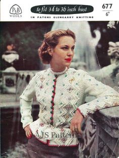 364c2076eac0d 10 Best Vintage fair isle designs in knitting images