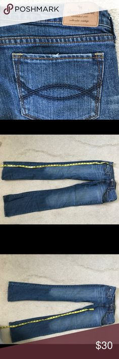 Abercrombie & Fitch Kids Jeans size 16 slim, barely worn, stretch fit Abercrombie & Fitch Bottoms Jeans
