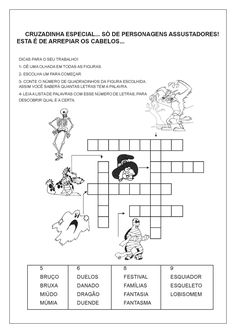Rio Grande Do Sul, Halloween, 1, Literacy Activities, Science For Toddlers, Sayings, Kids Education, Alphabet Soup, Foods