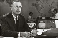 """Back when everyone watched the national news broadcasts every, every night, I learned about the world from Walter Cronkite. President Kennedy's assassination, the Vietnam War, the Civil Rights movement, the moon landing: """"And that's the way it is."""""""