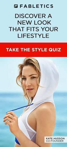 Discover a new look that fits your lifestyle. Fitness, swim or leisure wear. Kate Hudson's fitness and fashion line 2016.