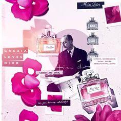 Hoy @dior apaga dos velas: una por el cumpleaños de Christian Dior y otra por el 70 aniversario del lanzamiento de Miss Dior la fragancia inspirada en su hermana menor  via GRAZIA MEXICO MAGAZINE OFFICIAL INSTAGRAM - Fashion Campaigns  Haute Couture  Advertising  Editorial Photography  Magazine Cover Designs  Supermodels  Runway Models