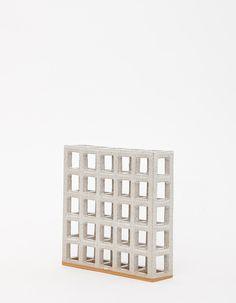Ben Medansky Ceramics-CUBE STRUCTURE // 5X5X1