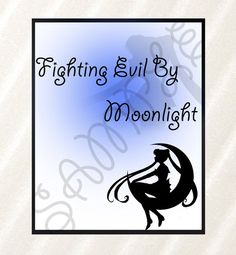 Sailor Moon Poster, Wall Art, Pritable Poster, 8x10, printable pdf, Fighting evil by moonlight, Sailor Moon Accessory, Decor, Printable art