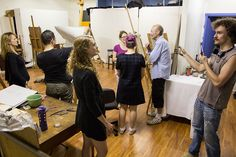 Life drawing  $25  Every Friday night We have painting & drawingeasels…