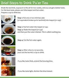 Pu' Er Tea Spleen/Stomach Enhancer