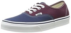 Vans Classic Classic Authentic Port Blue Mens Trainers 5 US * Check out this great product.(This is an Amazon affiliate link and I receive a commission for the sales)