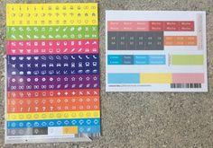 Weekview Kalender extended für 2017 - Okt 2016 bis März 2018 #Kalender #Calendar #notebook #journal #notizbuch