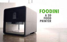 """""""Stasera ti stampo una pizza""""! Sta per arrivare Foodini, la stampante food 3D! #food #cucina #tecnologia #foodini"""